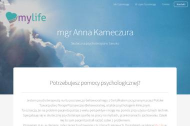 Psychoterapeuta mgr Anna Kameczura - Psycholog Sanok