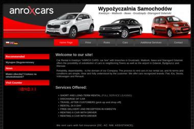 ANROX CARS - Wypożyczalnia samochodów Kwidzyn