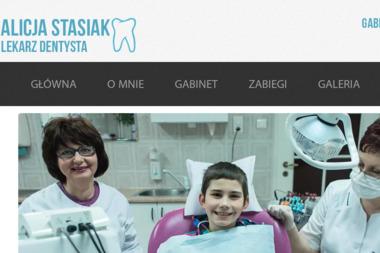 Lekarz stomatolog Alicja Stasiak - Gabinet Dentystyczny Biała Podlaska