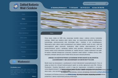 Zakład Badania Wód i Ścieków - Badania i rozwój, analizy Szczecin
