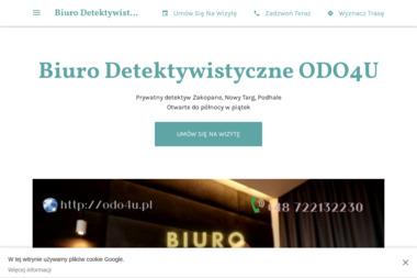 Biuro Detektywistyczne ODO4U - Kancelaria prawna Nowy Targ