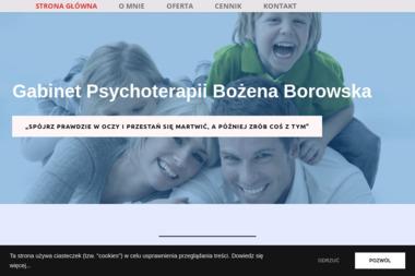 Gabinet pomocy psychologicznej oraz psychoterapii uzależnień mgr Bożena Borowska - Terapia uzależnień Głogów