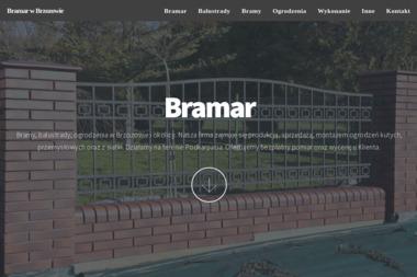 Bramar - Bramy wjazdowe Brzozów