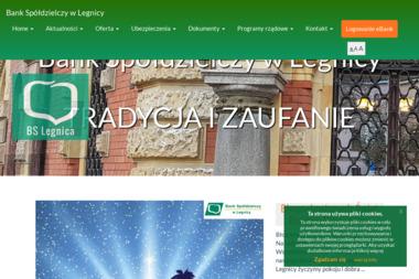 Bank Spółdzielczy w Legnicy - Kredyt Dla Firm Legnica