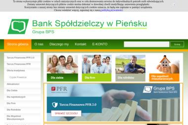Bank Spółdzielczy w Pieńsku - Kredyt Zgorzelec