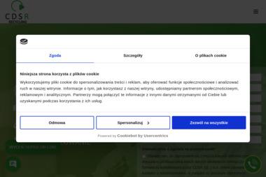 CDSR Sp. z o.o. - Przetwarzanie odpadów Warszawa