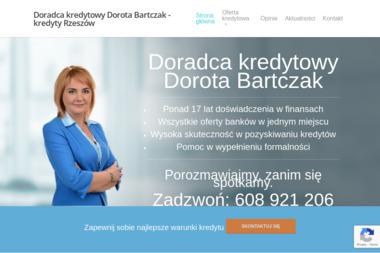DOROTA BARTCZAK Ekspert Kredytowy - Pośrednictwo Finansowe Rzeszów