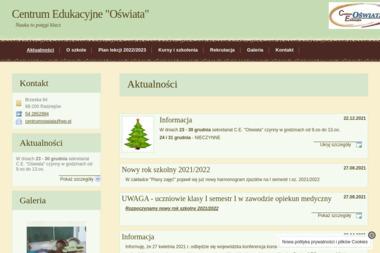 """Centrum Edukacyjne """"Oświata"""" - Kwalifikowana Pierwsza Pomoc Radziejów"""