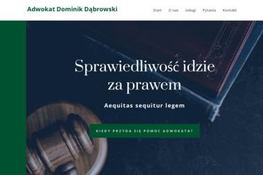 Kancelaria Adwokacka Adwokat Dominik Dąbrowski - Adwokat Chojnice