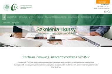 Centrum Innowacji i Rzeczoznawstwa - Biegli i rzeczoznawcy Warszawa
