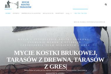 Czyszczenie Kostki Brukowej - Mycie Elewacji Katowice
