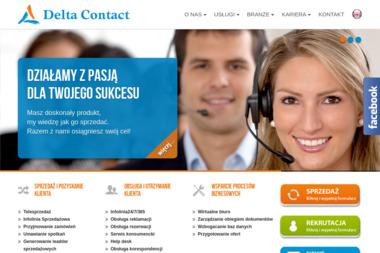 Delta Contact Sp. z o.o. - Call Center Warszawa