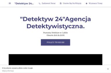 """""""Detektyw 24"""" Agencja Detektywistyczna - Detektyw Lublin"""