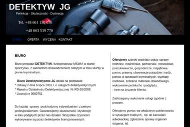 Biuro Detektywistyczne – JG - Usługi Detektywistyczne RYBNIK