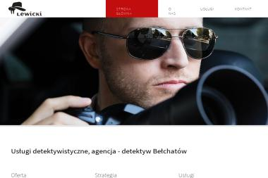Biuro Detektywistyczne Andrzej Lewicki - Detektyw Bełchatów