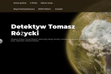 Biuro Detektywistyczne Tomasz Różycki - Detektyw Kraków