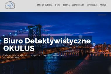 Biuro Detektywistyczne OKULUS - Detektyw Katowice
