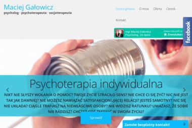Maciej Gałowicz Psychoterapia - Psycholog Krosno