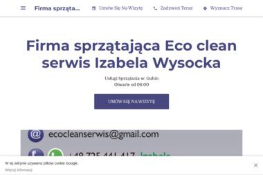 Eco clean serwis - Sprzątanie Gubin