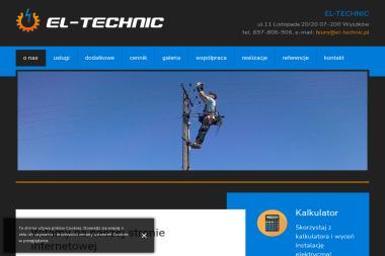 EL-TECHNIC - Odśnieżanie Wyszków