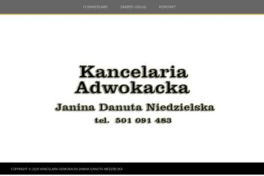 Kancelaria Adwokacka Janina Danuta Niedzielska - Adwokat Elbląg
