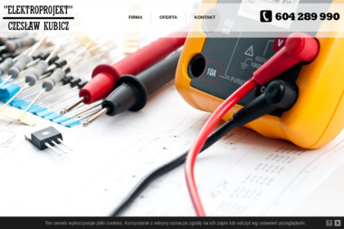 """Zakład Handlowo-Usługowy """"Elektroprojekt"""" - Montaż Systemów Alarmowych Słupsk"""
