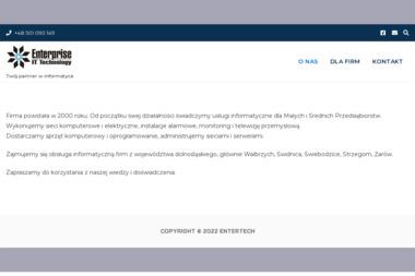 Enterprise IT Technology - Alarmy Wałbrzych