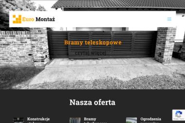 Euro Montaż - Ogrodzenia z Drewna Osiek