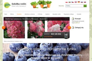 Gospodarstwo Ogrodnicze w Karpaczu - Ogród i rośliny Karpacz