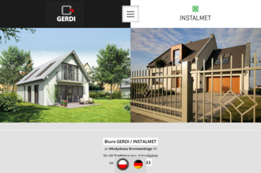 GERDI / INSTALMET - Drzwi Dwuskrzydłowe Trzebnica