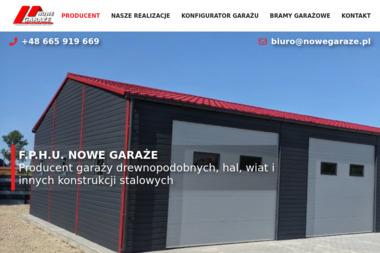 Punkt Sprzedaży GARAŻE I BRAMY Henryk Rolka - Garaże blaszane Żory