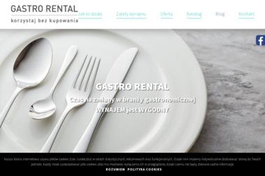 Gastro Rental Sp. z o.o. Sp. k. - Wypożyczanie sprzętu gastronomicznego Gądki