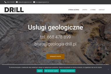 DRILL Usługi Geologiczne - Geolog Strzyżów