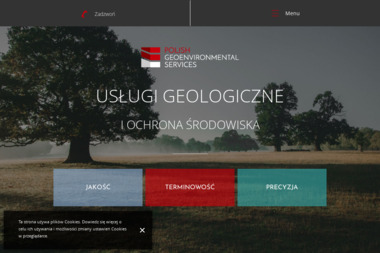 Polish Geoenvironmental Services - Geolog Rzeszów