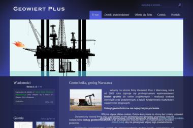 Geowiert Plus - Geologia Warszawa