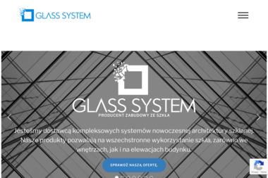 GLASS SYSTEM - Szklarz Zamość