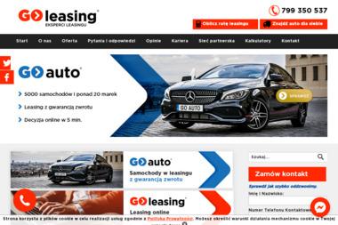 GO-leasing Sp. z o.o. - Leasing Konsumencki Szczecin