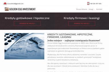 Golden Egg Investment - Kredyt hipoteczny Kraków