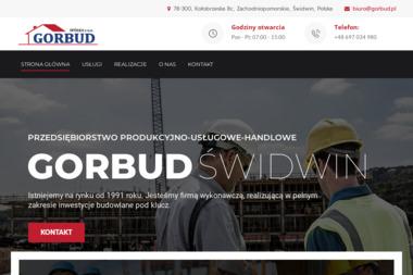 GORBUD - Firmy inżynieryjne Świdwin