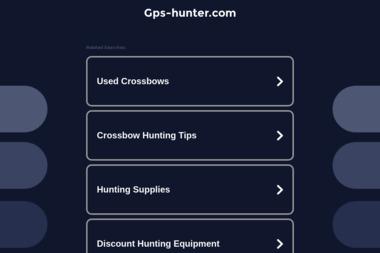 GPS Hunter - Strony WWW Racibórz