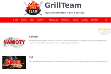GrillTeam - Wypożyczalnia Namiotów Imprezowych Kiełpin