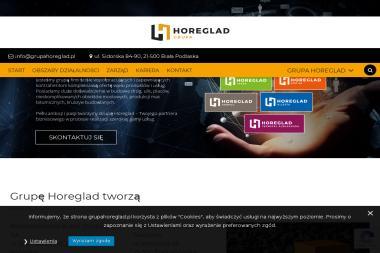 Grupa Horeglad - Budowa dróg Biała Podlaska