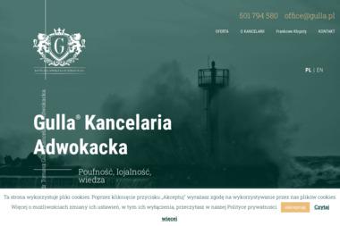 Kancelaria Adwokacka Dr Tomasz Gulla - Windykacja Gdynia