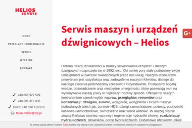 Helios Serwis - Wózki widłowe Gdańsk
