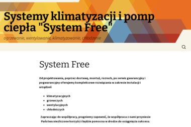 """Systemy klimatyzacji i pomp ciepła """"SYSTEM FREE"""" - Urządzenia, materiały instalacyjne Sławno"""