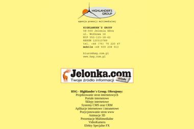 HSG - Highlander`s Group - Strony internetowe Jelenia Góra