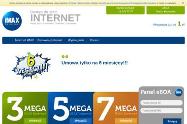 iMAX - Internet Nowy Sącz