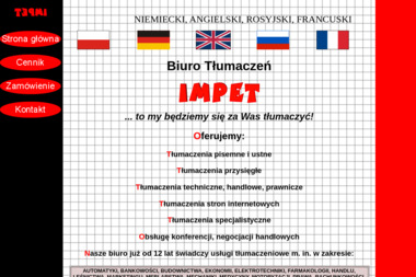 Biuro Tłumaczeń Impet - Tłumacze Elbląg