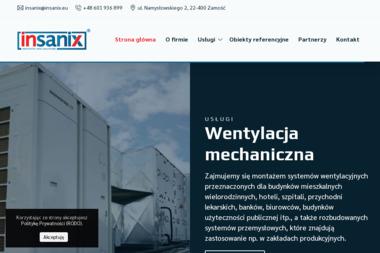 INSANIX – Nowoczesne instalatorstwo sanitarne - Klimatyzacja Zamość