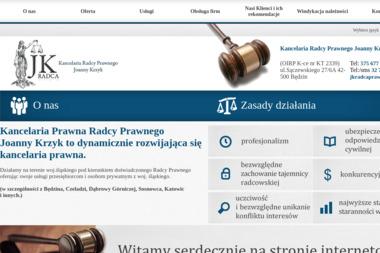 KANCELARIA RADCY PRAWNEGO JOANNY KRZYK - Pomoc Prawna Będzin